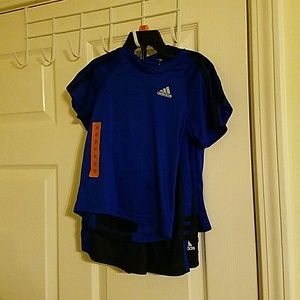 Little Boys Adidas 2 Pieces Tshirt and Shorts